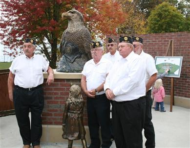 Five of the Sampson brothers who served
